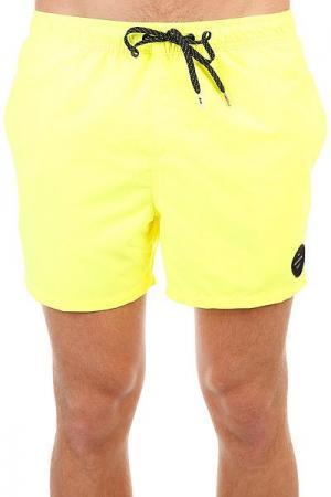 Шорты пляжные  Everysolidvol15 Safety Yellow Quiksilver. Цвет: желтый