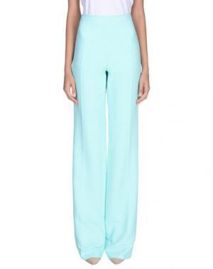 Повседневные брюки ANTONIO BERARDI. Цвет: бирюзовый