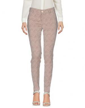 Повседневные брюки LE'S. Цвет: голубиный серый