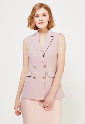 Жилет Lusio. Цвет: розовый