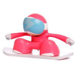 Игрушка  Snowboarder Pink Chuckbuddies. Цвет: розовый