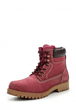 Ботинки Gioseppo. Цвет: бордовый