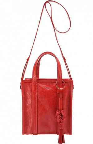 Сумка Bazar Shopper XS Chinese New Year Balenciaga. Цвет: красный