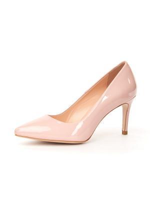 Туфли Lottini. Цвет: бледно-розовый