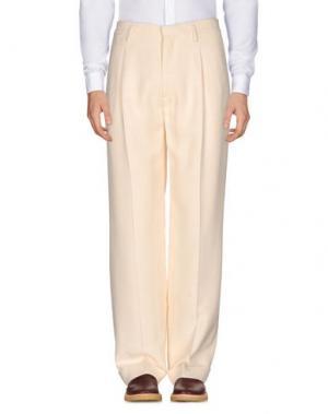 Повседневные брюки MARC JACOBS. Цвет: слоновая кость