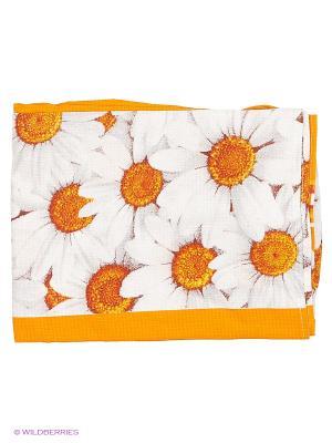 Полотенце на резинке Метиз. Цвет: оранжевый