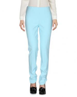 Повседневные брюки CEDRIC CHARLIER. Цвет: небесно-голубой