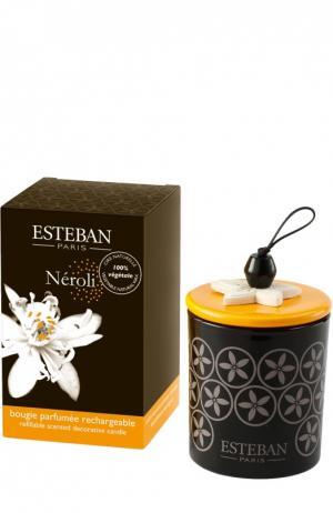 Декоративная арома-свеча Нероли Esteban. Цвет: бесцветный