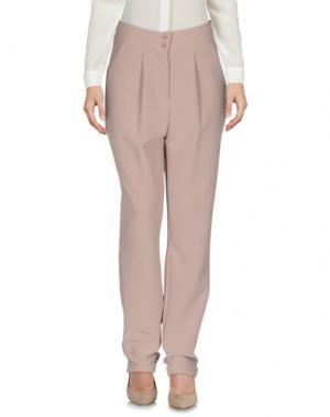 Повседневные брюки UFFICIO 87. Цвет: бежевый