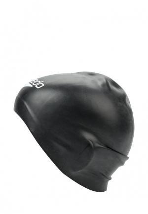 Шапочка для плавания Speedo. Цвет: черный