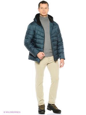 Куртка Grishko. Цвет: морская волна
