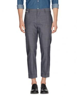 Повседневные брюки MARC JACOBS. Цвет: свинцово-серый