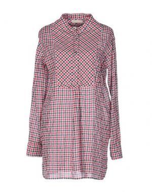 Короткое платье VICOLO. Цвет: красный