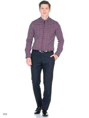 Рубашка CARAT.. Цвет: бордовый