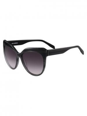 Очки солнцезащитные KL 930S 084 Karl Lagerfeld. Цвет: серый