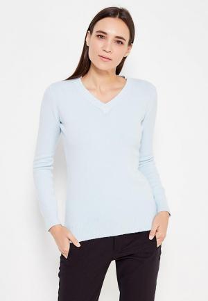 Пуловер Passioni. Цвет: голубой