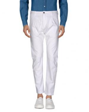 Повседневные брюки OFFICINA 36. Цвет: белый