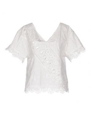 Блузка OPENING CEREMONY. Цвет: белый