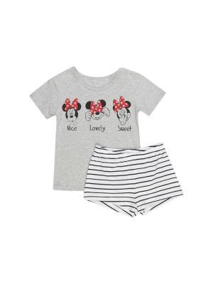Пижама ТВОЕ. Цвет: светло-серый, красный