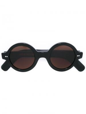 Круглые солнцезащитные очки Cutler & Gross. Цвет: чёрный