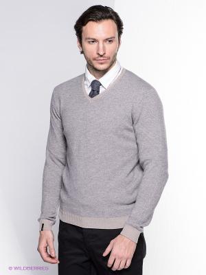 Пуловер Bramante. Цвет: светло-бежевый, серый