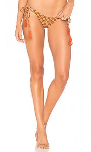 Низ бикини alyssa Mia Marcelle. Цвет: оранжевый