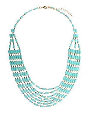 Ожерелье DETTAGLI. Цвет: бирюзовый