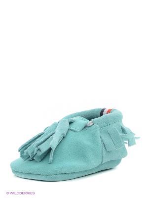 Пинетки U.S. Polo Assn.. Цвет: серо-голубой, серо-зеленый, голубой