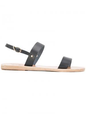 Босоножки Clio Ancient Greek Sandals. Цвет: синий