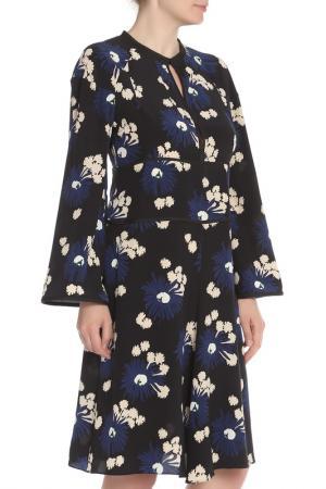 Платье с круглым вырезом горловины Marni. Цвет: черный