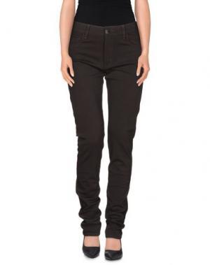 Повседневные брюки TAG ELEMENTS. Цвет: темно-коричневый