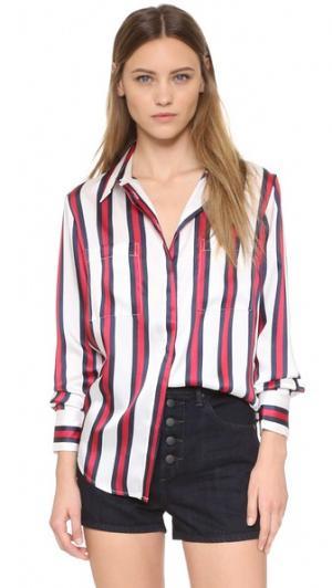 Рубашка Rising findersKEEPERS. Цвет: коричневый