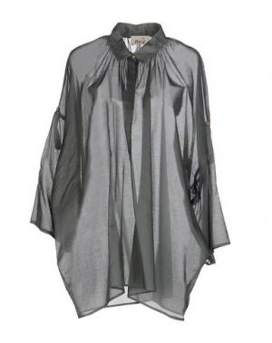 Pубашка NIU'. Цвет: серый