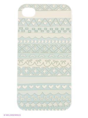 Чехол Kawaii Factory. Цвет: серый, голубой