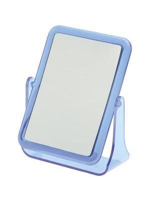 Зеркало настольное в синей оправе Dewal. Цвет: синий