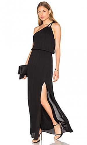 Вечернее платье charleston Rory Beca. Цвет: черный