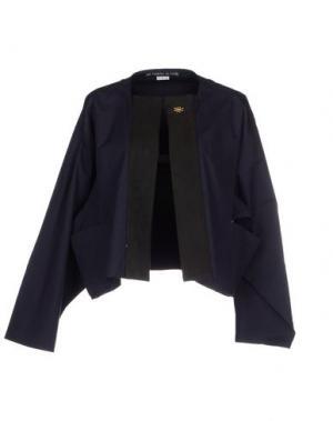 Пиджак LES PRAIRIES DE PARIS. Цвет: темно-синий
