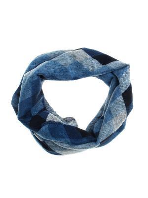 Повязка на голову Olere. Цвет: голубой, синий, черный