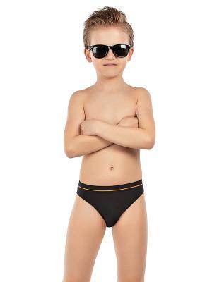 Плавки для мальчиков Nirey. Цвет: черный