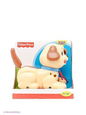 Веселый щенок Mattel. Цвет: желтый, коричневый