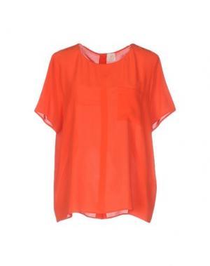 Pубашка DES PETITS HAUTS. Цвет: красный