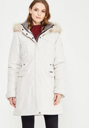 Куртка утепленная Torstai. Цвет: белый