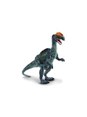 Дилофозавр синий ,L 12,9 см Collecta. Цвет: синий