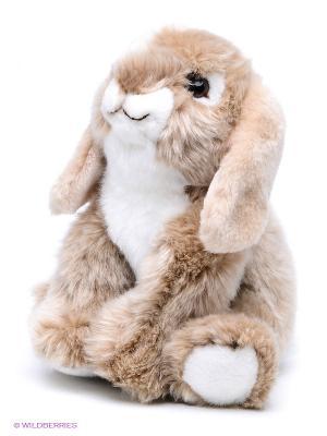 Мягкая игрушка Кролик MAXITOYS. Цвет: бежевый, молочный