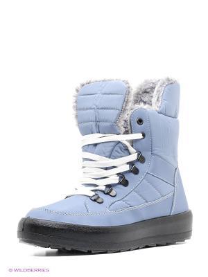 Ботинки Алми. Цвет: голубой
