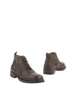 Полусапоги и высокие ботинки UIT. Цвет: хаки