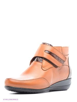Ботинки Atiker. Цвет: рыжий