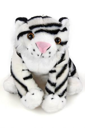 Тигр Бенгальский, 25 см Fluffy Family. Цвет: белый