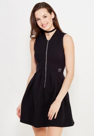 Платье Sixth June. Цвет: черный