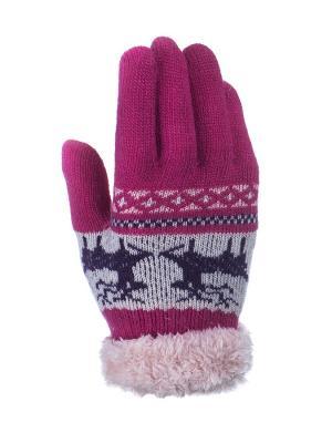 Перчатки детские Cascatto. Цвет: малиновый